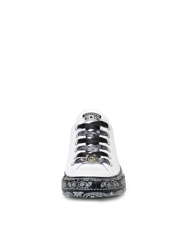 CONVERSE x Miley Cyrus Chuck Taylor All Star Low White/Black - 162235C - 4