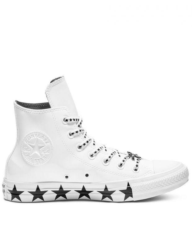 CONVERSE x Miley Cyrus Chuck Taylor All Star Ox Hi White - 563719C - 2