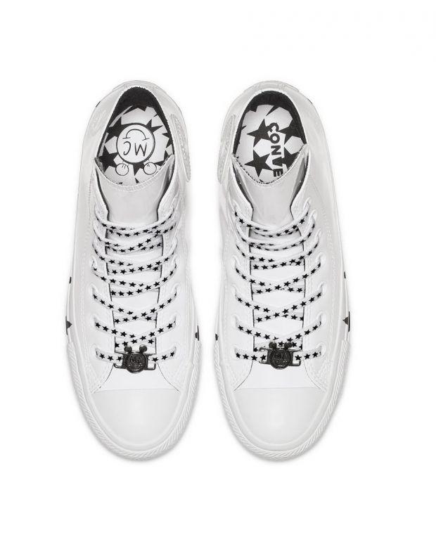 CONVERSE x Miley Cyrus Chuck Taylor All Star Ox Hi White - 563719C - 5