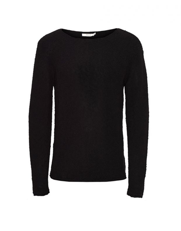 JACK&JONES Classic Knitted Pullover Black - 2