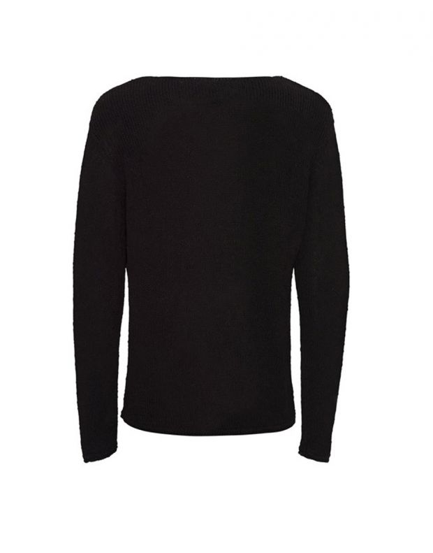 JACK&JONES Classic Knitted Pullover Black - 3