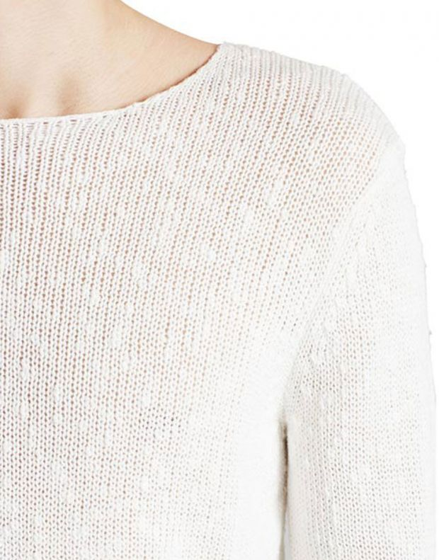 JACK&JONES Classic Knitted Pullover White - 6