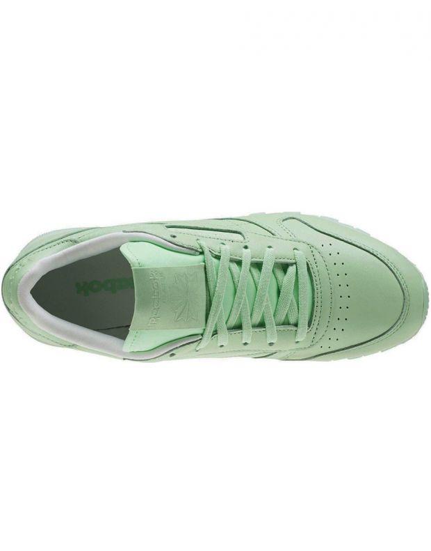REEBOK Classic Leather Pastels Green - 5
