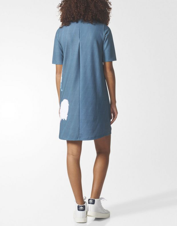 ADIDAS Collective Memories Dress Blue - BP5143 - 6