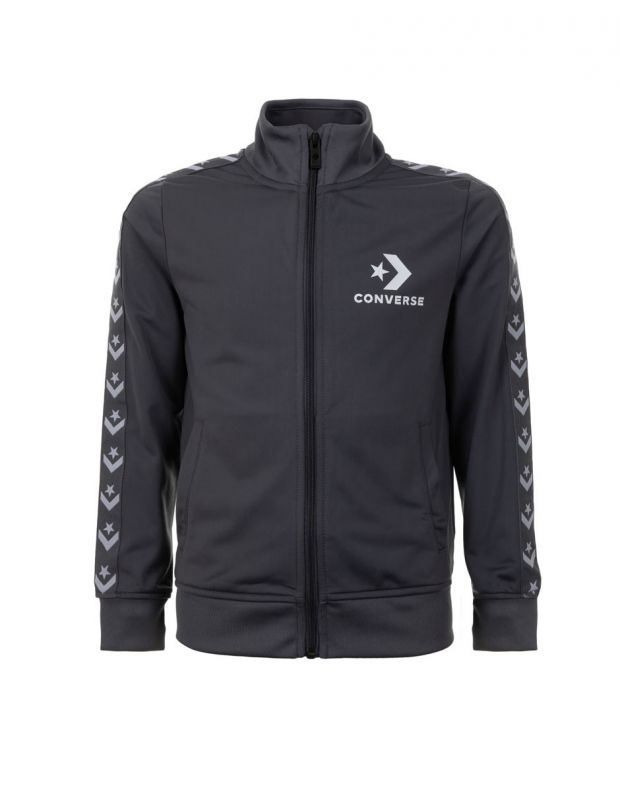 CONVERSE Tricot Taping Tracktop Grey - 968673-G1A - 1
