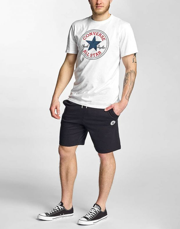 CONVERSE Core Chuck Patch Tee White - 2