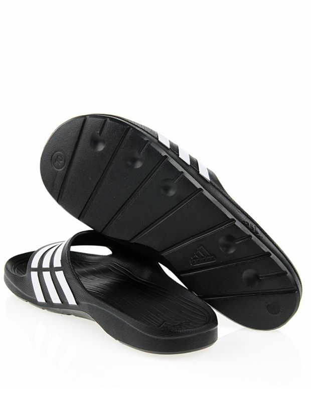 ADIDAS Duramo Slide Black/White - 2