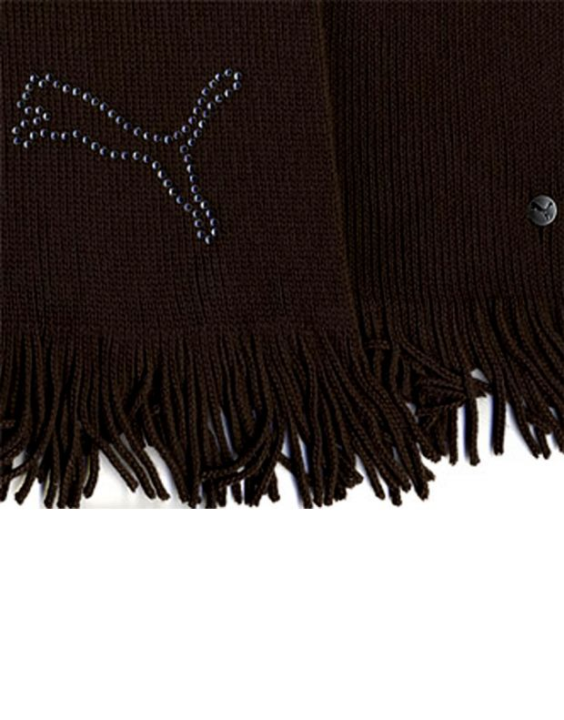 PUMA Diamond Cat Scarf Brown - 2