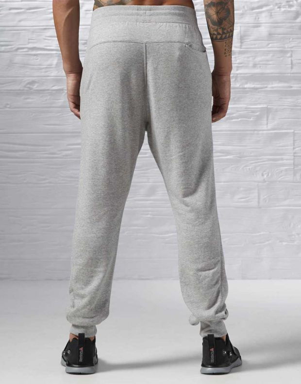 REEBOK Seasonal French Terry Cuff Pant Grey - 2