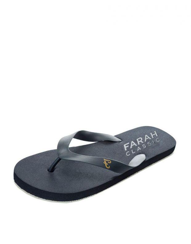FARAH Classic Shore Mens Flip Flops Navy - FAR0114-108 - 1