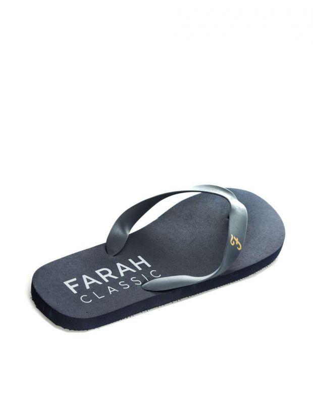 FARAH Classic Shore Mens Flip Flops Navy - FAR0114-108 - 2