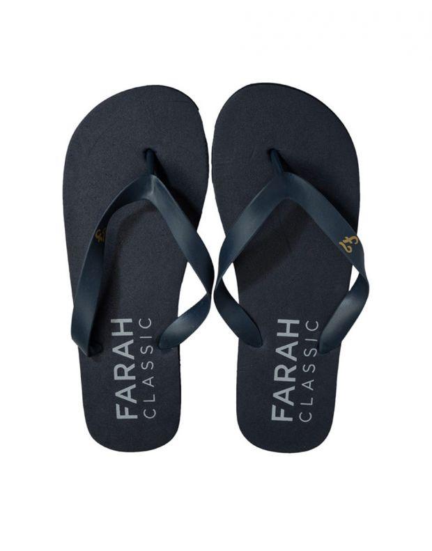 FARAH Classic Shore Mens Flip Flops Navy - FAR0114-108 - 3