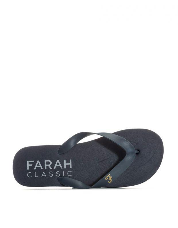 FARAH Classic Shore Mens Flip Flops Navy - FAR0114-108 - 4