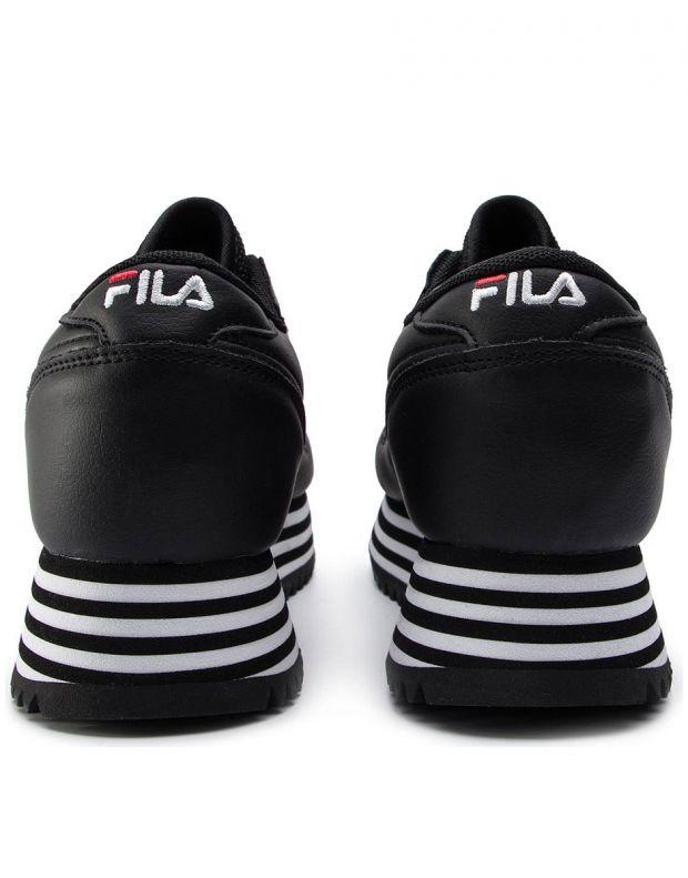 FILA Orbit Zeppa Stripe Black W - 1010667-11W - 4