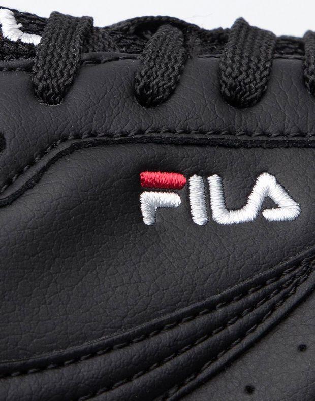 FILA Orbit Zeppa Stripe Black W - 1010667-11W - 7