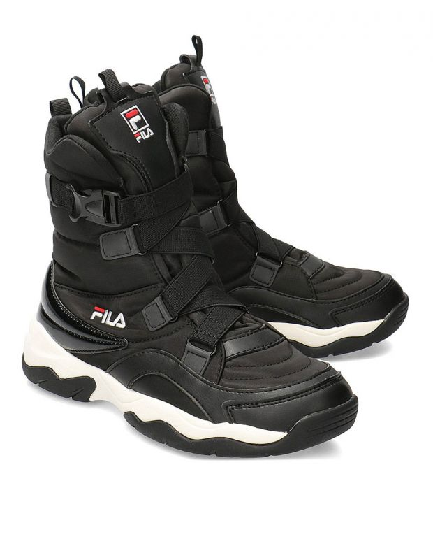FILA Ray Neve Boot Black - 1010766-25Y - 3