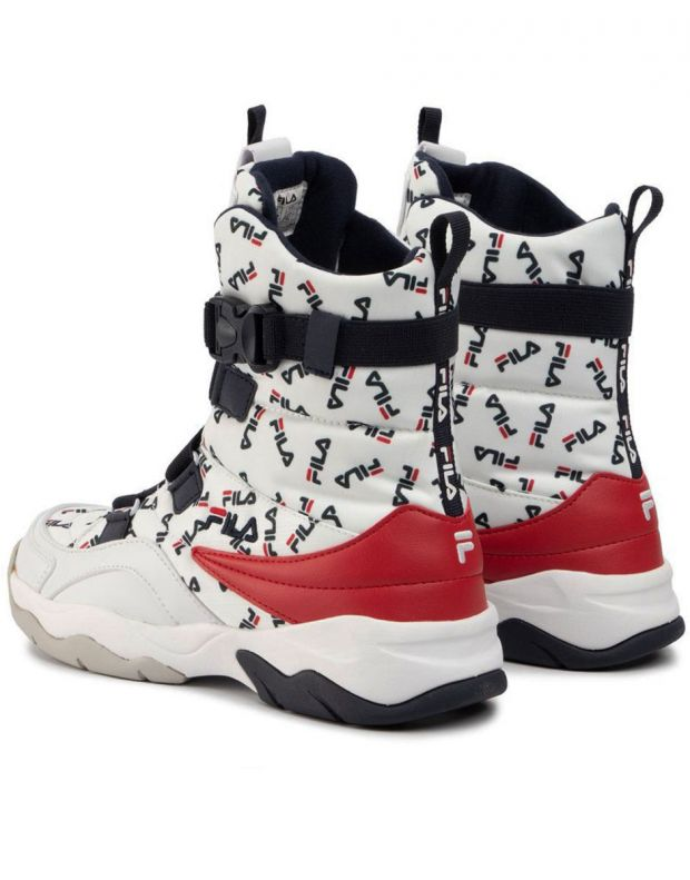 FILA Ray Neve Boot White - 1010766-1FG - 4