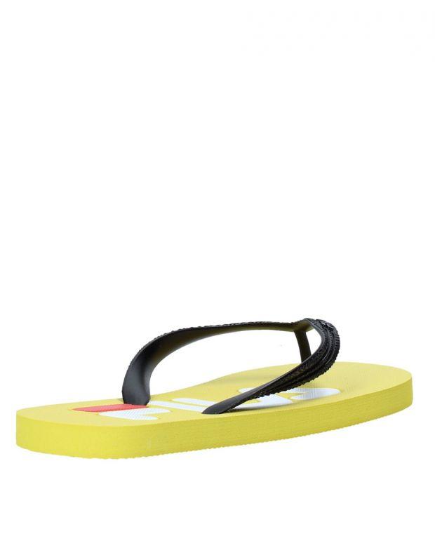 FILA Troy Slipper Men Yellow - 1010288-60K - 4