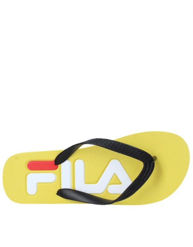 FILA Troy Slipper Men Yellow - 1010288-60K - 5