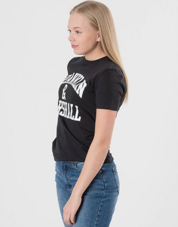 FRANKLIN AND MARSHALL CF Logo Tee Black - FMS0097-023 - 6