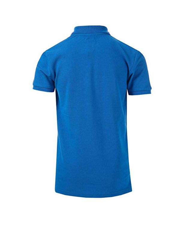 FRANKLIN AND MARSHALL Core Logo Polo Blue - 2