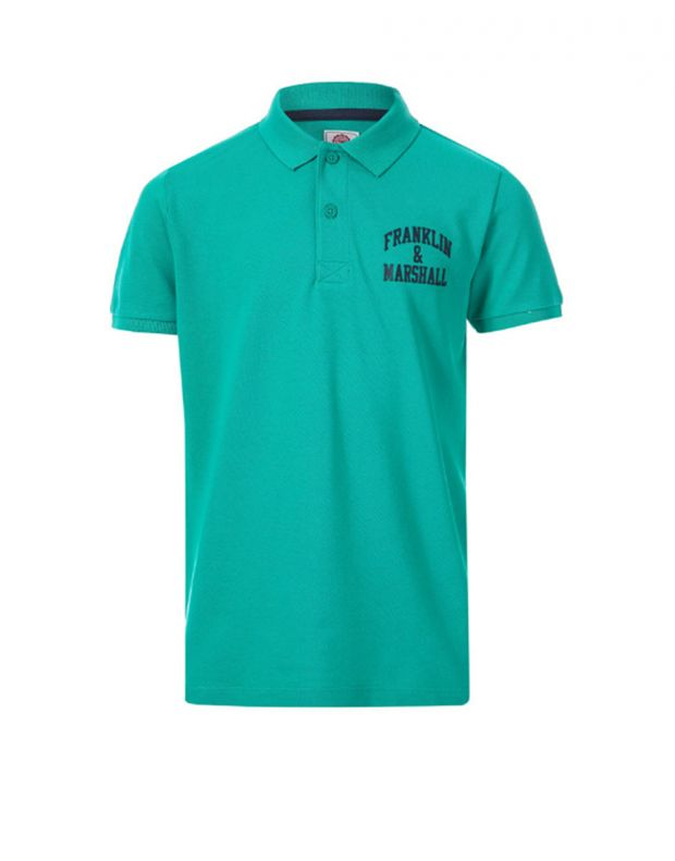 FRANKLIN AND MARSHALL Core Logo Polo Bright Green - 1