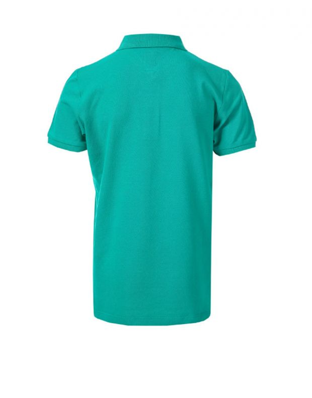 FRANKLIN AND MARSHALL Core Logo Polo Bright Green - FMS0091-401 - 2