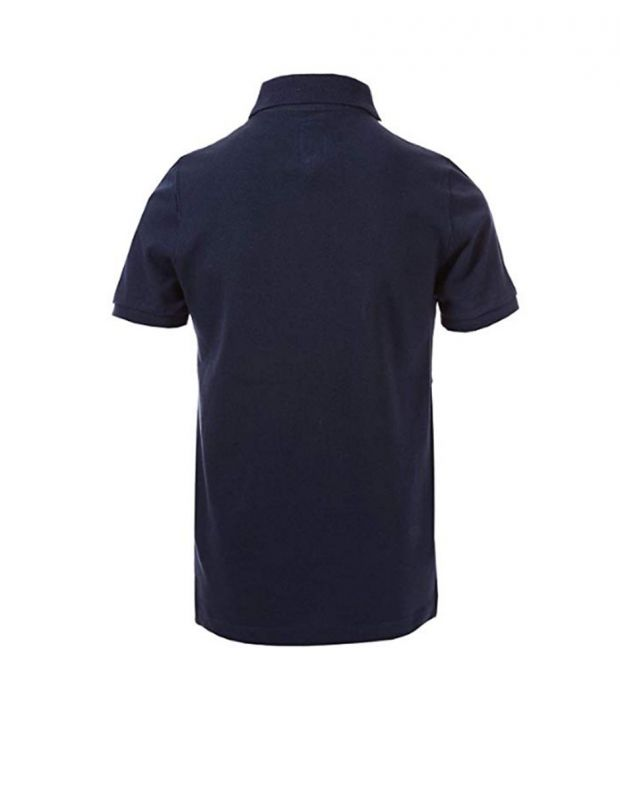 FRANKLIN AND MARSHALL Core Logo Polo Navy - FMS0091-178 - 2