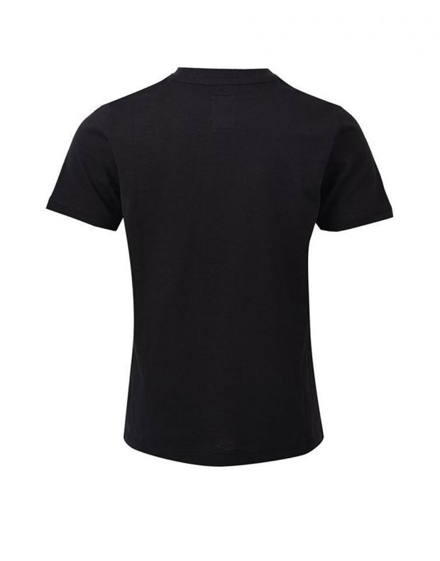 FRANKLIN AND MARSHALL Logo Tee Black - FMS0060-023 - 2