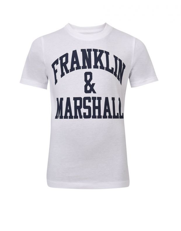 FRANKLIN AND MARSHALL CF Logo Tee Bright - FMS0097-002 - 1