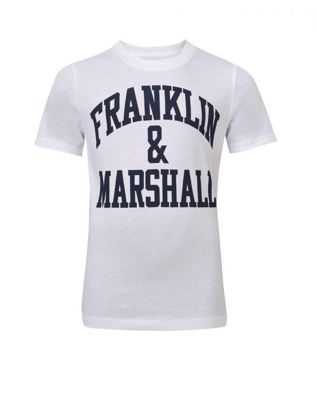 FRANKLIN AND MARSHALL CF Logo Tee Bright - 1