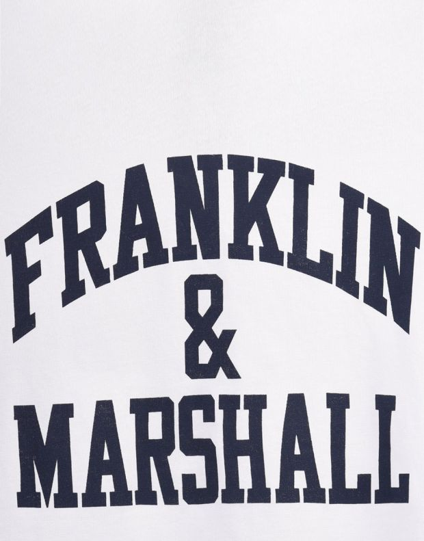 FRANKLIN AND MARSHALL CF Logo Tee Bright - FMS0097-002 - 3