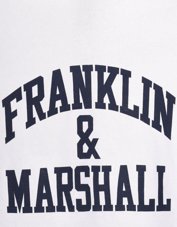 FRANKLIN AND MARSHALL CF Logo Tee Bright - 3