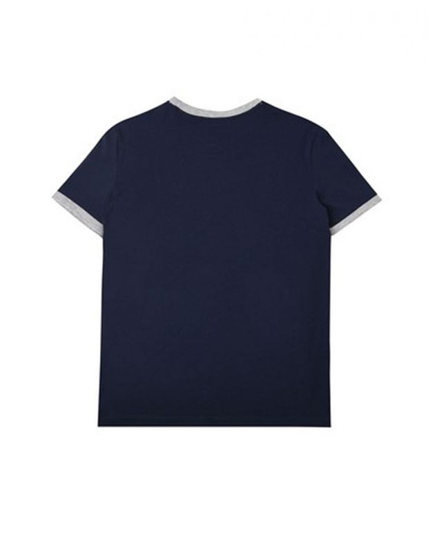 FRANKLIN AND MARSHALL Retro Logo Ringer Navy - 2