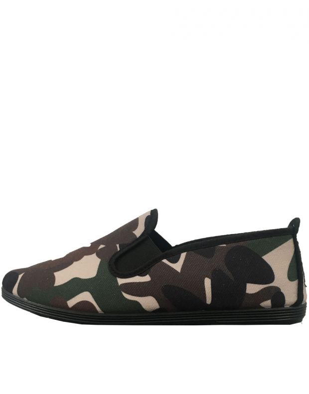 FLOSSY Slip On Camo - 55-369-MARRON - 1