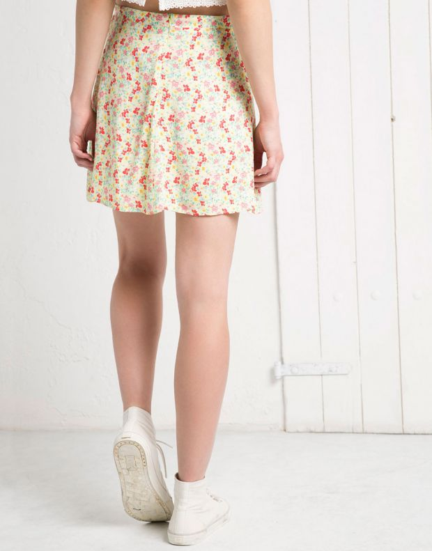 BERSHKA Flower Skirt - 4