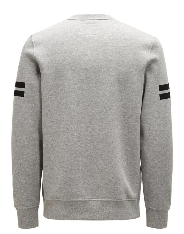 JACK&JONES Graphic Blouse Grey - 4