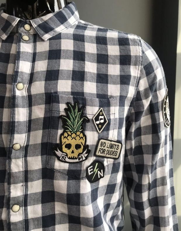 EIGHT2NINE Pineapple Shirt White - 3