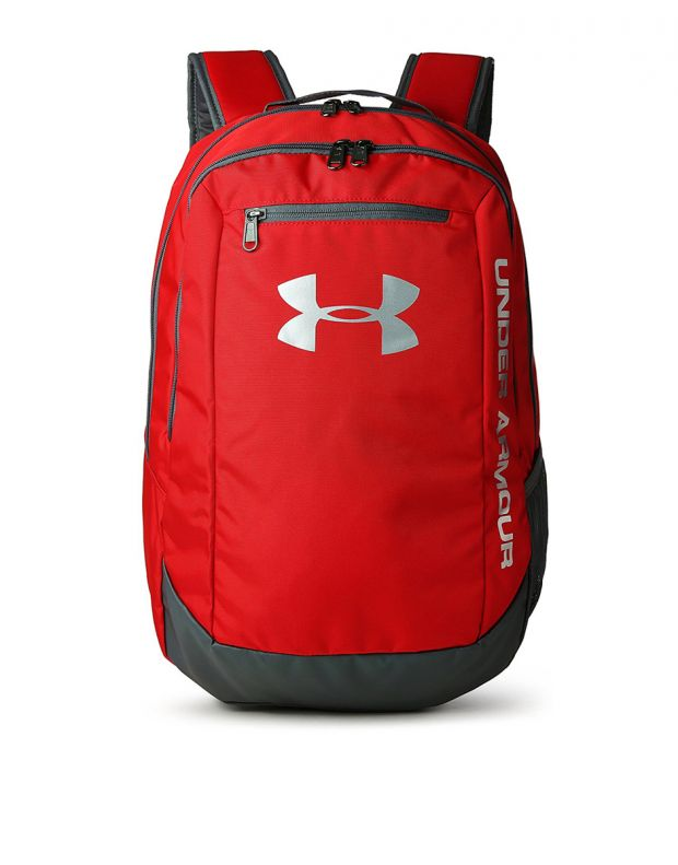 UNDER ARMOUR Hustle Backpack Red - 1