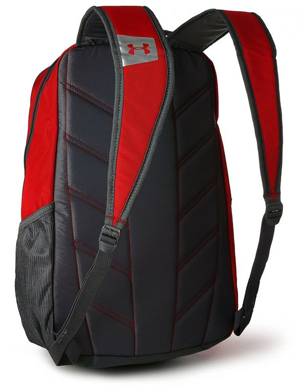UNDER ARMOUR Hustle Backpack Red - 2