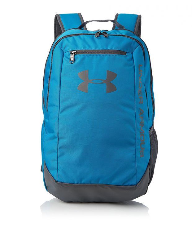 UNDER ARMOUR Hustle Backpack Blue - 1