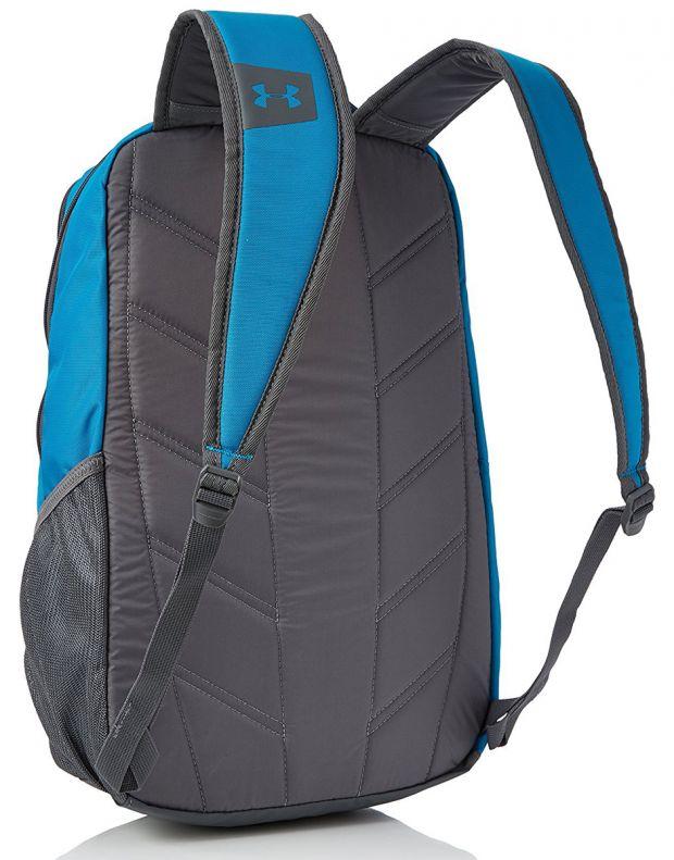 UNDER ARMOUR Hustle Backpack Blue - 2