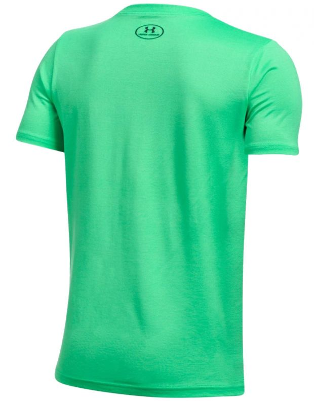UNDER ARMOUR Infusion Logo Tee Green - 2