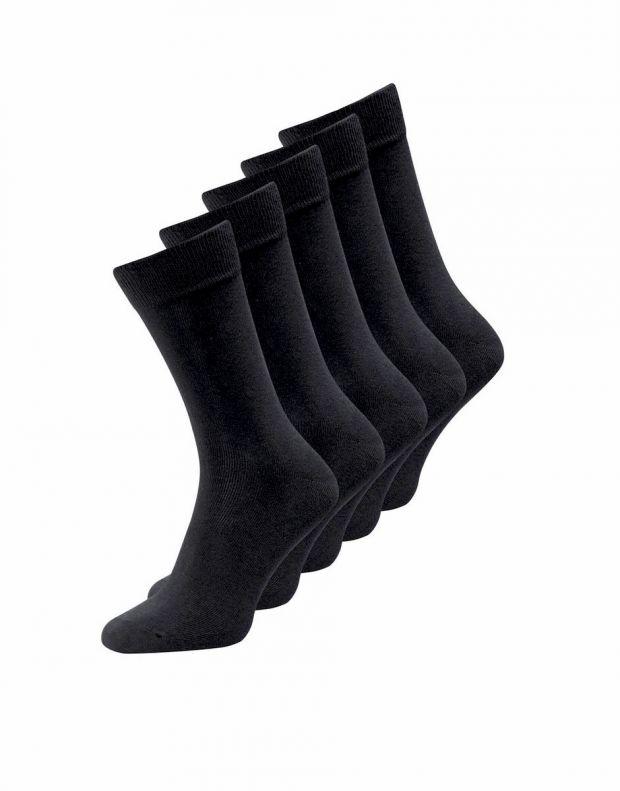 JACK&JONES 5-Pack Classic Socks All Black - 12113085/black - 1