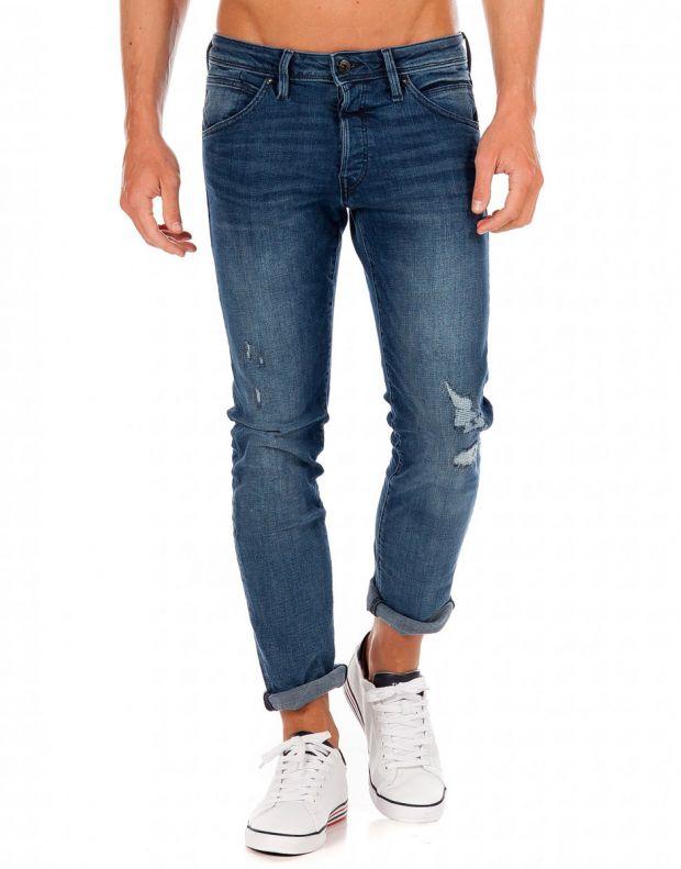 JACK&JONES Glen Fox Slim Fit Jeans Denim - 12149692/denim - 1