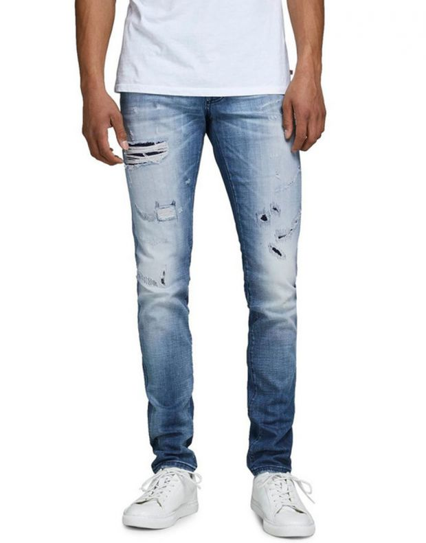 JACK&JONES Glenn Rock Slim Fit Jeans Denim - 12159172/denim - 1