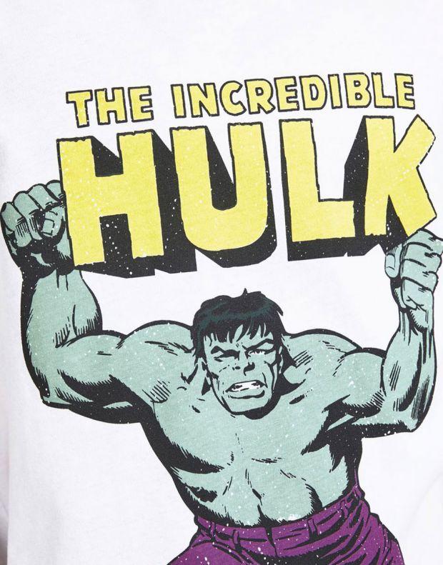 JACK&JONES Kids Hulk Tee White - 12194380/white - 5