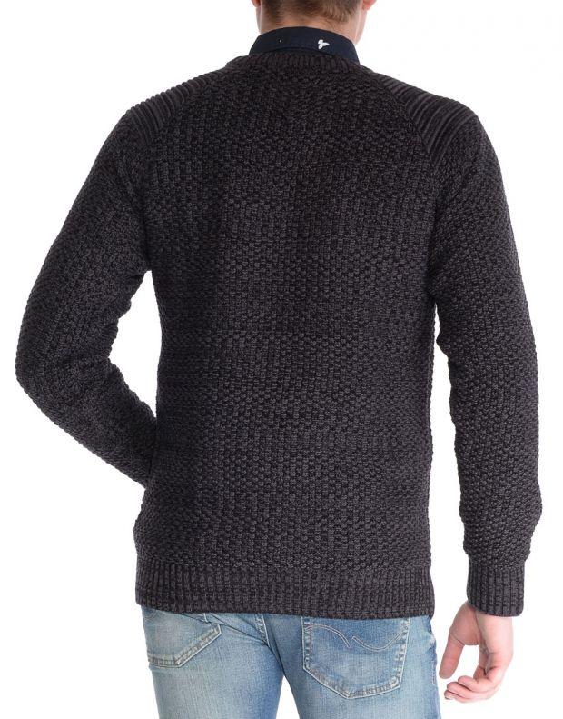 JACK&JONES Knit Crew Neck Longsleeve Black - 12088058/black - 2
