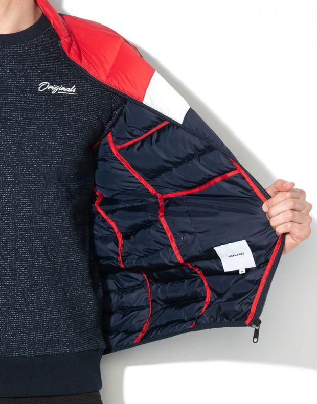 JACK&JONES Puffer Jacket Scarlet - 12156211/scarlet - 4