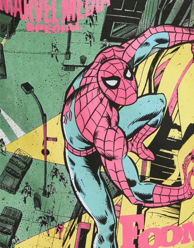 JACK&JONES Spiderman Tee Black - 12194380/black - 5
